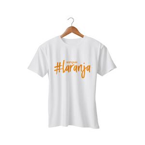 Camiseta Feminina - #SangueLaranja - Branca
