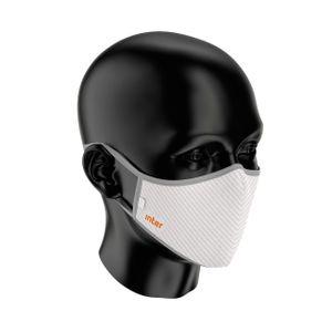 Máscara Inter Alta Performance -  Risca de Giz Branca