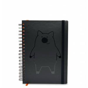 Caderno Interpig Executivo Preto