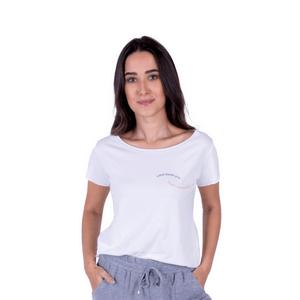 Tshirt Feminina Verão Liberdade Branca