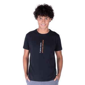 "Camiseta Masculina ""Fazer Diferente"" Preta"