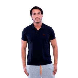 Camisa Polo Masculina - Preta