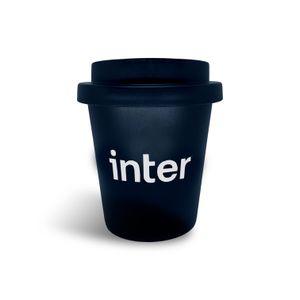 Copo Café Trip Reutilizável Preto