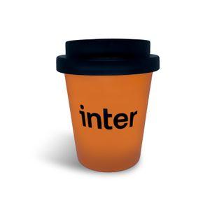 Copo Café Trip Reutilizável Laranja