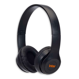 Headfone Fosco Bluetooth Preto Inter