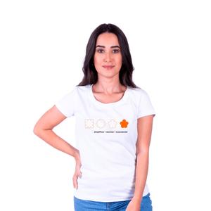 Camiseta Feminina Inter Surpreender - Branca