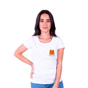 Camiseta Feminina InterPig Simplifique - Branca
