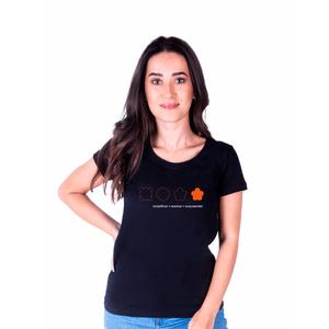 Camiseta Feminina Inter Surpreender - Preta