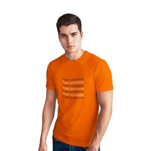 Camiseta Masculina Inter Acontecer - Laranja