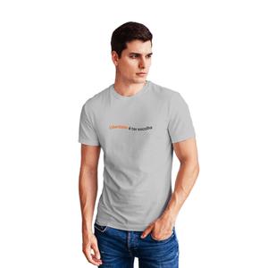 Camiseta Masculina Inter Liberdade - Cinza