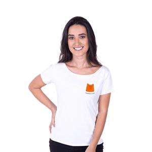 Tshirt Feminina InterPig - Branca